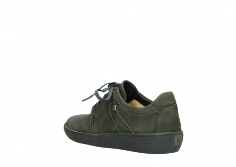 wolky lace up shoes 08125 artemis 50730 forest green oiled leather_4
