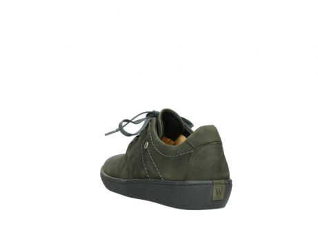 wolky lace up shoes 08125 artemis 50730 forest green oiled leather_5