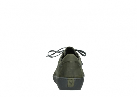 wolky lace up shoes 08125 artemis 50730 forest green oiled leather_7