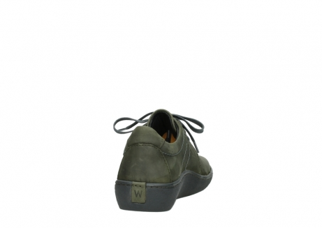 wolky lace up shoes 08125 artemis 50730 forest green oiled leather_8