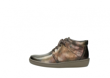wolky lace up shoes 08126 babylon 90320 bronze metallic leather_1