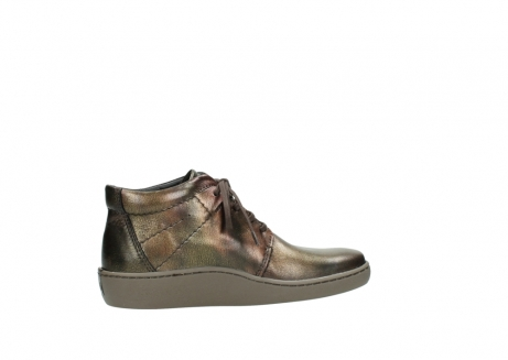 wolky lace up shoes 08126 babylon 90320 bronze metallic leather_12