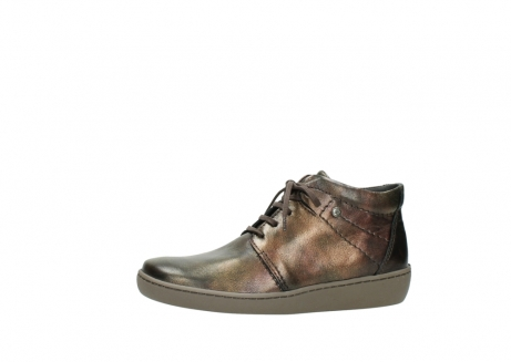 wolky lace up shoes 08126 babylon 90320 bronze metallic leather_24
