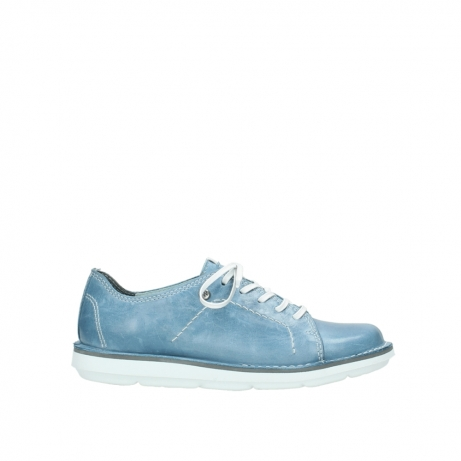 wolky lace up shoes 08475 coal 30820 denim leather