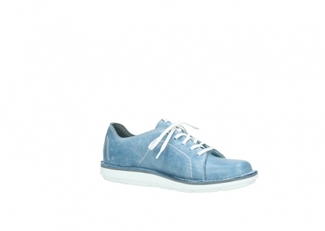 wolky lace up shoes 08475 coal 30820 denim leather_15