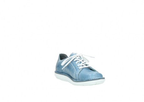 wolky lace up shoes 08475 coal 30820 denim leather_17