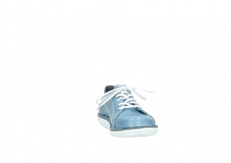 wolky lace up shoes 08475 coal 30820 denim leather_18