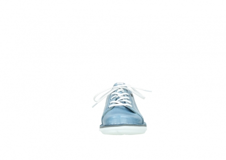 wolky lace up shoes 08475 coal 30820 denim leather_19