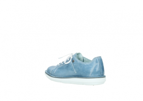 wolky lace up shoes 08475 coal 30820 denim leather_4
