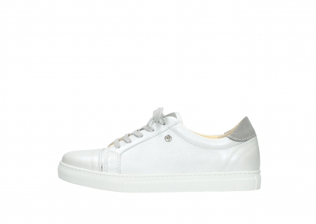 wolky lace up shoes 09440 perry 81100 white metallic leather_1