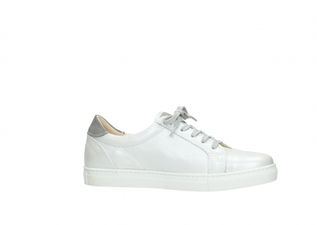 wolky lace up shoes 09440 perry 81100 white metallic leather_14
