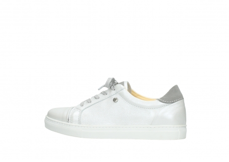wolky lace up shoes 09440 perry 81100 white metallic leather_2
