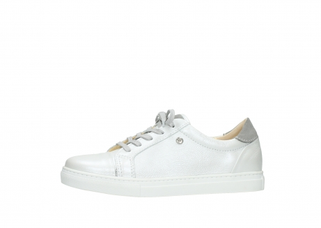 wolky lace up shoes 09440 perry 81100 white metallic leather_24