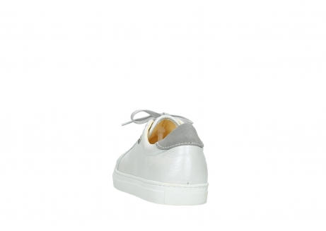 wolky lace up shoes 09440 perry 81100 white metallic leather_6