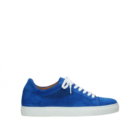 wolky lace up shoes 09480 francesco 40810 cobalt suede