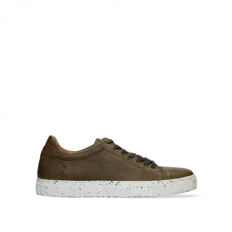 wolky lace up shoes 09483 forecheck 22375 khaki leather