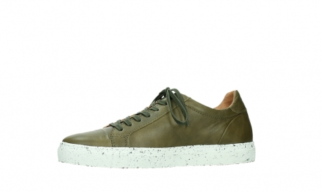 wolky lace up shoes 09483 forecheck 22375 khaki leather_12