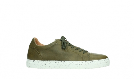 wolky lace up shoes 09483 forecheck 22375 khaki leather_2