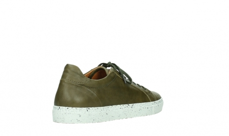 wolky lace up shoes 09483 forecheck 22375 khaki leather_22