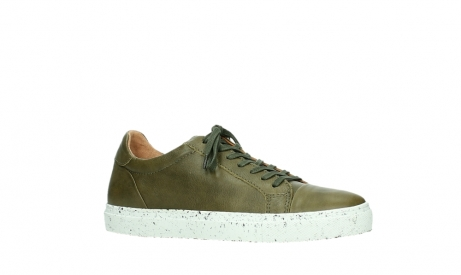 wolky lace up shoes 09483 forecheck 22375 khaki leather_3