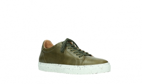 wolky lace up shoes 09483 forecheck 22375 khaki leather_4