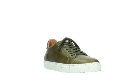 wolky lace up shoes 09483 forecheck 22375 khaki leather_5