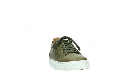 wolky lace up shoes 09483 forecheck 22375 khaki leather_6
