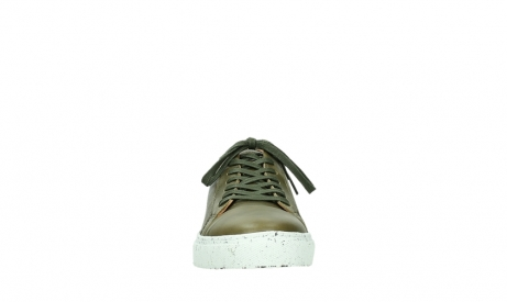 wolky lace up shoes 09483 forecheck 22375 khaki leather_7