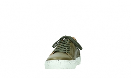 wolky lace up shoes 09483 forecheck 22375 khaki leather_8