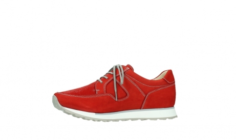 wolky walking shoes 05804 e walk 10570 red summer stretch nubuck_12