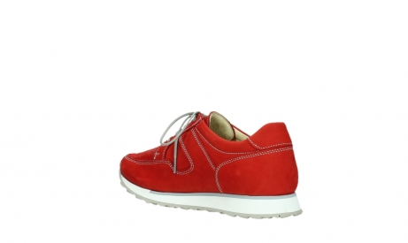 wolky walking shoes 05804 e walk 10570 red summer stretch nubuck_16