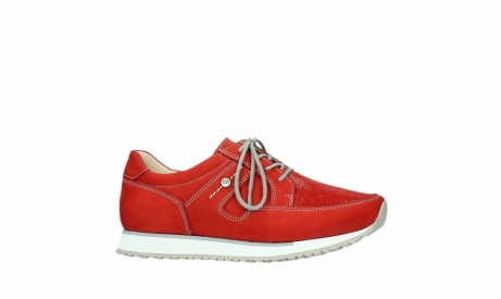 wolky walking shoes 05804 e walk 10570 red summer stretch nubuck_2