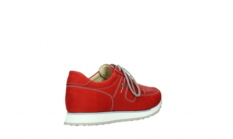wolky walking shoes 05804 e walk 10570 red summer stretch nubuck_22