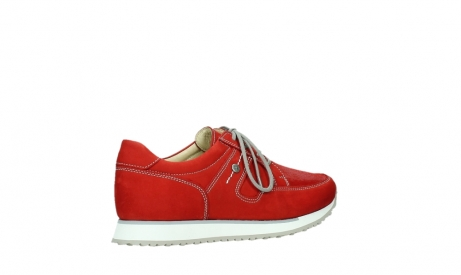 wolky walking shoes 05804 e walk 10570 red summer stretch nubuck_23