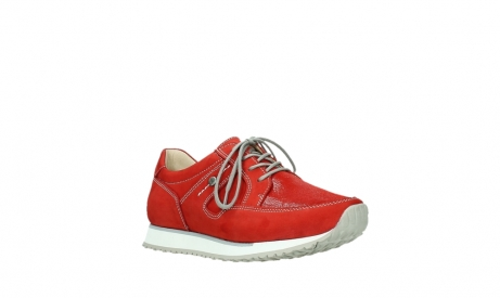 wolky walking shoes 05804 e walk 10570 red summer stretch nubuck_4