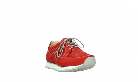 wolky walking shoes 05804 e walk 10570 red summer stretch nubuck_5