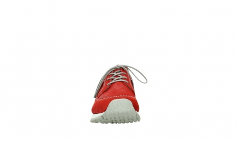 wolky walking shoes 05804 e walk 10570 red summer stretch nubuck_7