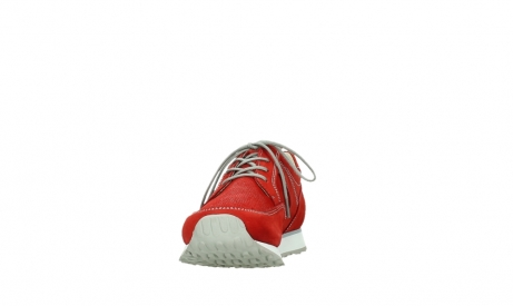 wolky walking shoes 05804 e walk 10570 red summer stretch nubuck_8