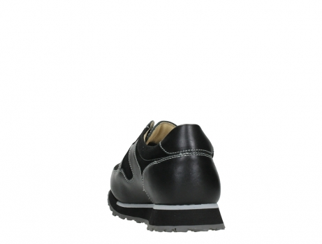 wolky walking shoes 05804 e walk 20009 black combi suede stretch leather_18