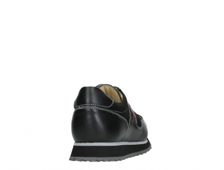 wolky walking shoes 05804 e walk 20009 black combi suede stretch leather_20