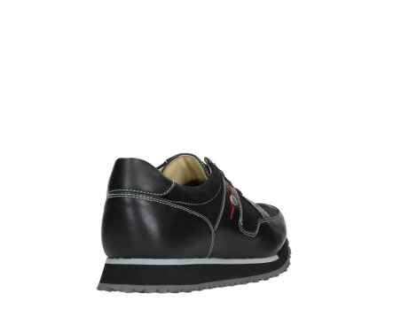 wolky walking shoes 05804 e walk 20009 black combi suede stretch leather_21
