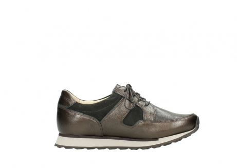 Wolky Shoes 05804 e-Walk brown combi