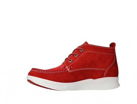 wolky lace up boots 05906 six 10570 red stretch nubuck_12