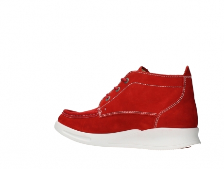 wolky lace up boots 05906 six 10570 red stretch nubuck_15