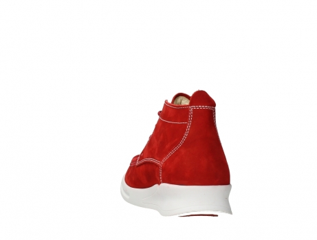 wolky lace up boots 05906 six 10570 red stretch nubuck_18