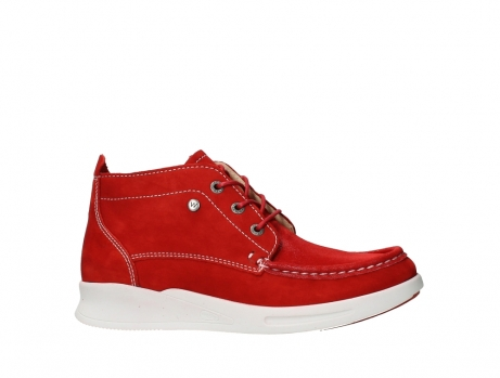 wolky lace up boots 05906 six 10570 red stretch nubuck_2