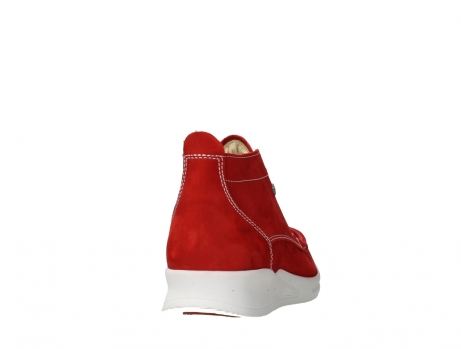 wolky lace up boots 05906 six 10570 red stretch nubuck_20