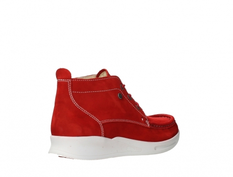 wolky lace up boots 05906 six 10570 red stretch nubuck_22