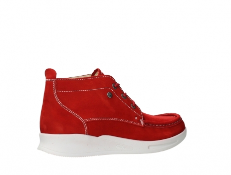 wolky lace up boots 05906 six 10570 red stretch nubuck_23