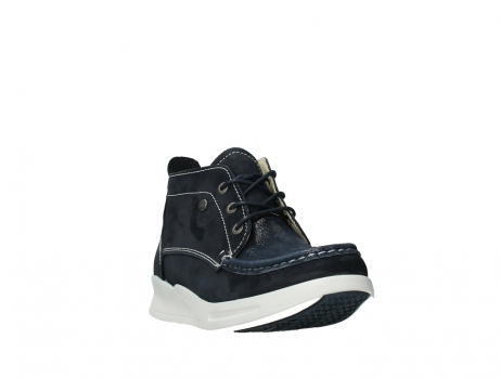 wolky lace up boots 05906 six 10870 blue nubuck_5